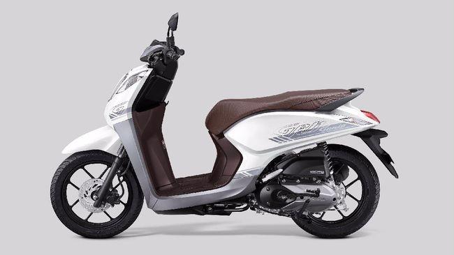 Pesaing Yamaha Mio, Honda Genio hadir dengan tampilan berbeda melalui striping dan warna baru.