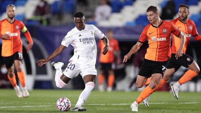 Real Madrid kalah 2-3 dari Shakhtar Donetsk dalam pertandingan Liga Champions, Kamis (22/10) dini hari waktu Indonesia.