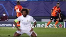 Madrid Tertinggal 0-3 dari Shakhtar di Babak Pertama