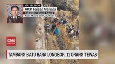 VIDEO: Tambang Batu Bara Longsor di Muara Enim, 11 Tewas