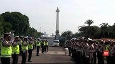 VIDEO: Pengamanan Jelang Demo Tolak RUU Omnibus Law