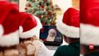 VIDEO: Layanan video Call Dengan Santa Claus