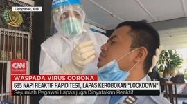 VIDEO: 685 Napi Reaktif Covid-19, Lapas Kerobokan 'Lockdown'