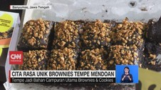 VIDEO: Cita Rasa Unik Brownies Tempe Mendoan