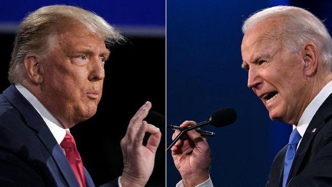 Debat terakhir capres AS antara Presiden Donald Trump dan Joe Biden telah usai digelar pada Kamis (22/10) malam di Nashville, Tennessee.