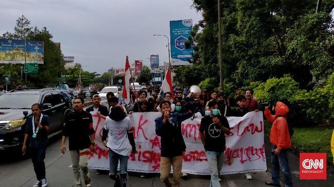 Mahasiswa yang tergabung dalam BEM Seluruh Indonesia menyatakan akan kembali aksi untuk menolak UU Cipta Kerja di Hari Sumpah Pemuda Rabu (28/10) ini.