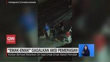 VIDEO: Emak-emak Gagalkan Aksi Pemerasan di Tanjung Priok
