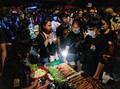 FOTO: Kala Street Food Ramaikan Aksi Demo Thailand