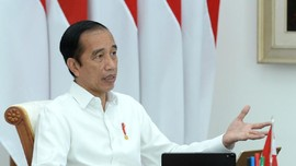 Jokowi Sebut Omnibus Law Ciptaker Semangat Lompatan Kemajuan