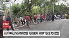 VIDEO: Masyarakat Adat Protes Pemberian Nama Venue PON 2021