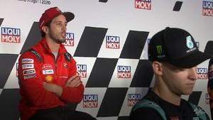 VIDEO: Dovizioso Merasa Asing Jelang MotoGP Teruel 2020