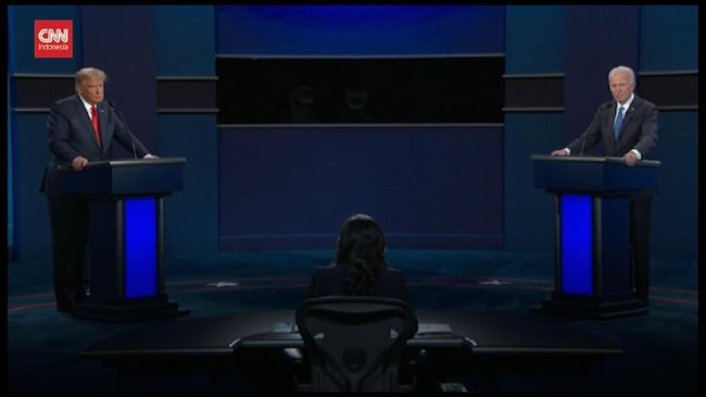VIDEO: Kilas Debat Pamungkas Joe Biden-Donald Trump