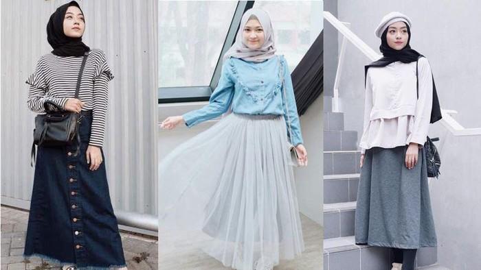 5 Model Rok yang Cocok untuk Para Hijabers, Bikin Kesan Modis dan Anggun