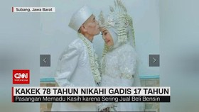 VIDEO: Kakek 78 Tahun Nikahi Gadis 17 Tahun