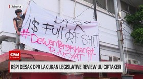 VIDEO: KSPI Desak DPR Lakukan Legislative Review UU Ciptaker