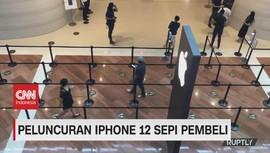 VIDEO: Peluncuran Iphone 12 Sepi Pembeli