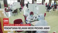 VIDEO: Pendaftaran Relawan Medis Provinsi Jabar