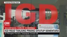 VIDEO: IGD RSUD Tanjung Pinang Ditutup Sementara