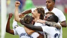 Real Madrid Menari di Atas Penderitaan Barcelona
