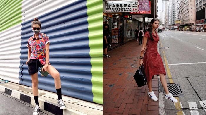 Gaya Fashion Casual dan Chic ala Yuki Kato