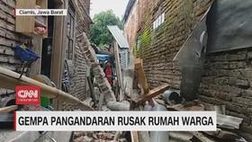 VIDEO: Gempa Pangandaran Rusak Rumah Warga