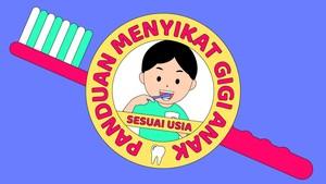 INFOGRAFIS: Panduan Menyikat Gigi Anak Sesuai Usia