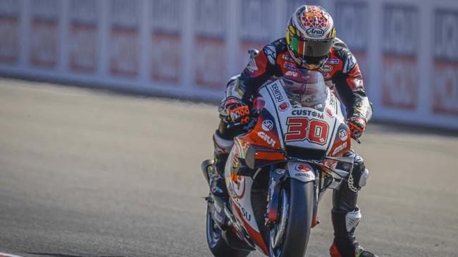 Foto terbaik Takaaki Nakagami meraih pole MotoGP Teruel 2020 bisa dilihat melalui galeri foto berikut ini.