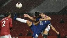 Hasil Liga Inggris: MU vs Chelsea Berakhir Tanpa Pemenang