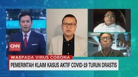 VIDEO: Pemerintah Klaim Kasus Covid-19 Turun Drastis