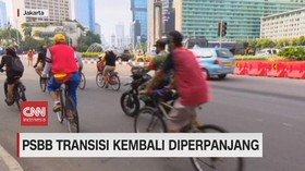 VIDEO: PSBB Transisi DKI Kembali Diperpanjang