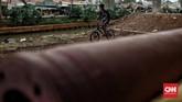 Pemkot Jaktim menyulap lahan di kolong tol Becakayu jadi pump track. Lokasi pumptrack ini berada di Cipinang Melayu, Sisi Selatan Saluran Kalimalang