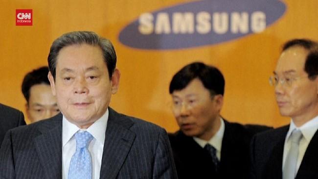 VIDEO: Sempat Koma, Bos Besar Samsung Meninggal Dunia