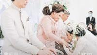 <p>Pernikahan Kevin dan Vicy berlangsung dengan mewah di Hotel Intercontinental Jakarta, Pondok Indah.(Foto: Moire Photo/ Bridestory/ Dok. Instagram)</p>
