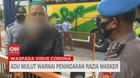 VIDEO: Adu Mulut Warnai Penindakan Razia Masker