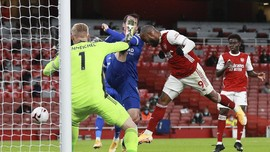 Hasil Liga Inggris: Arsenal Takluk dari Leicester di Emirates