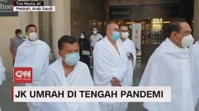 VIDEO: Jusuf Kalla Umrah di Tengah Pandemi