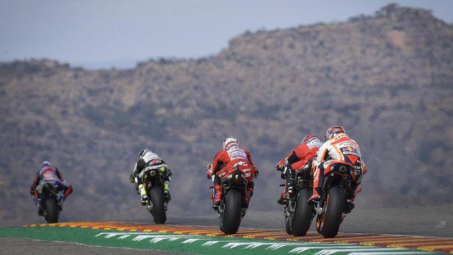 MotoGP Indonesia di Sirkuit Mandalika masuk daftar cadangan dalam draf kalender MotoGP 2021 yang dirilis pihak Dorna Sports.