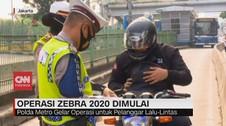 VIDEO: Polda Metro Gelar Operasi Zebra 2020 Mulai Hari Ini