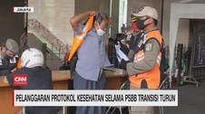 VIDEO: Pelanggaran Prokes Selama PSBB Transisi Turun