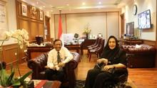 Mahfud dan Rachmawati Bertemu di Kemenko Polhukam Bahas Demo
