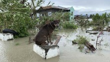 FOTO : Topan Molave Hantam Filipina