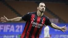 Daftar Top Skor Liga Italia: Ibrahimovic di Puncak