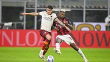 Hasil Liga Italia: Ibrahimovic 2 Gol, Milan Diimbangi Roma
