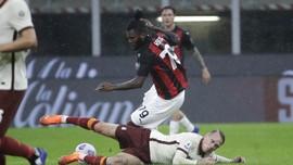 AC Milan Imbang Lawan Roma di Babak Pertama