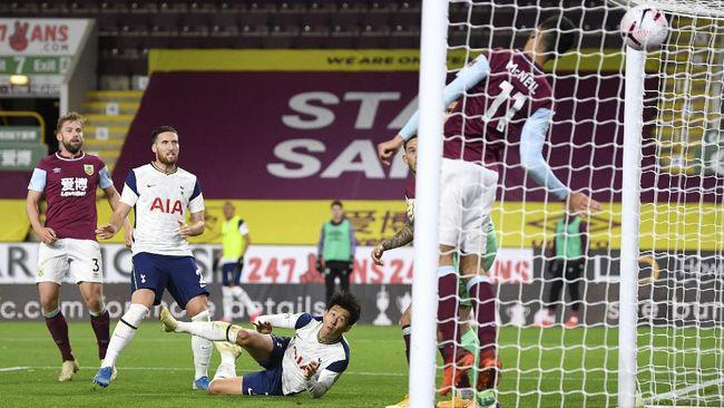 Tottenham Hotspur meraih kemenangan 1-0 saat menghadapi Burnley pada pekan keenam Liga Inggris berkat gol tunggal Son Heung Min.
