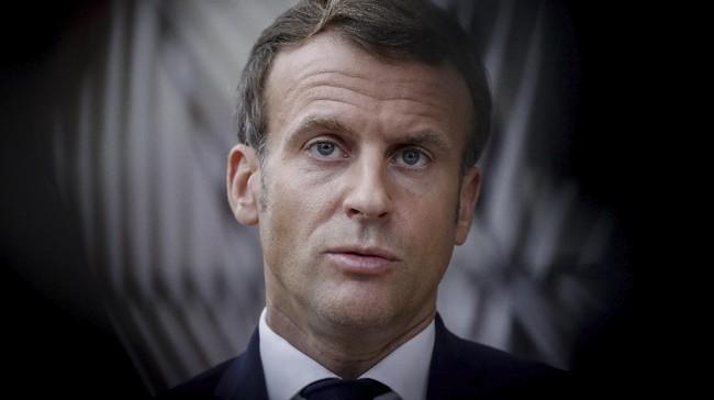 Macron Turut Ikut Campur Konflik Rusia-Ukraina