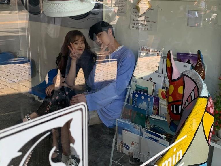 Go Ara dan Lee Jae Wook