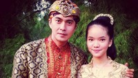 "<p>Di foto ini, Marcelino saat membintangi serial Raden Kian Santang. Ia menulis di caption, ""<em>With My Beloved Daughter in Indonesian TV Series ""Raden Kian Santang"".</em>"" (Foto: Instagram @marcellinozhang)</p>"