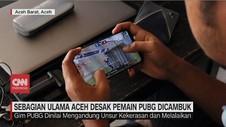 VIDEO: Sebagian Ulama Aceh Desak Pemain PUBG Dicambuk