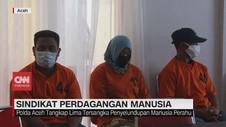VIDEO: Polda Aceh Tangkap 5 Tersangka Penyelundupan Manusia